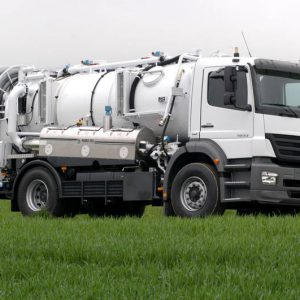 RECYCLE SEWER CLEANERS TRUCKS