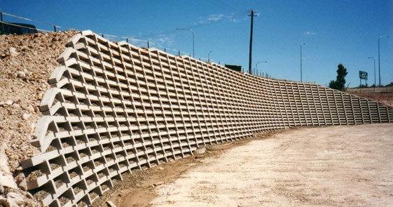 WALL RETAINING STRUCTURES